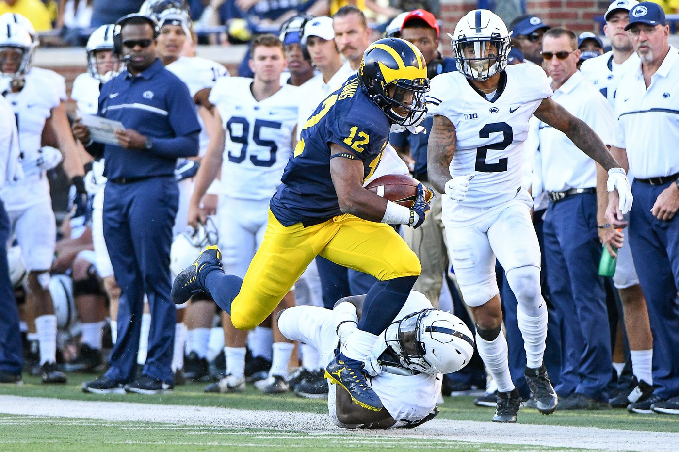Penn State players not dwelling on last visit to Michigan's Big House
