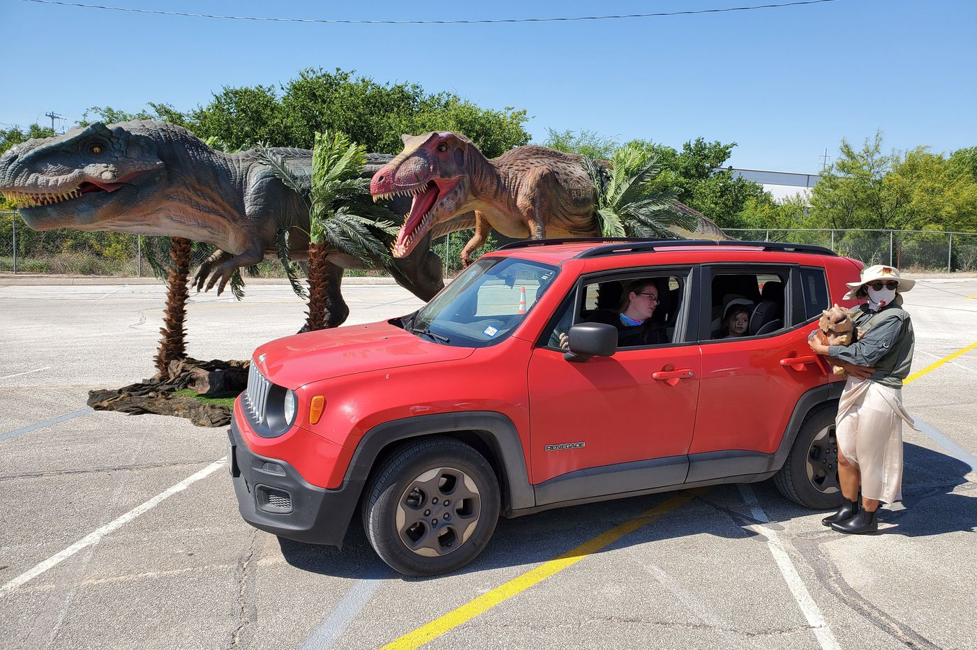 Jurassic drive-through is coming to Wells Fargo — plus more family fun to squeeze in as 'school' starts