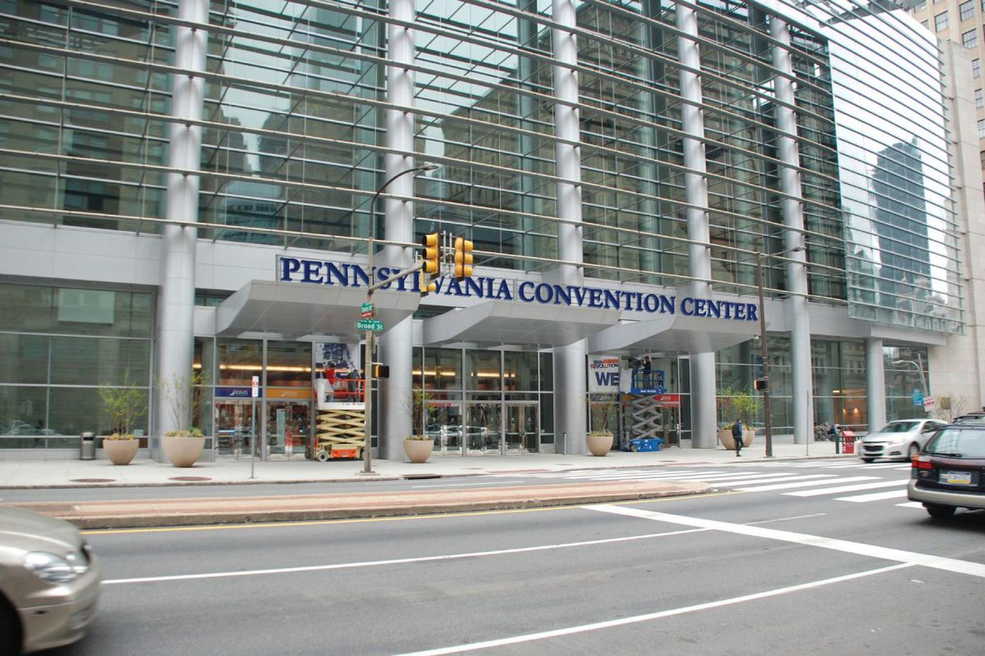 Finally, the Convention Center will get a sign on North Broad Street