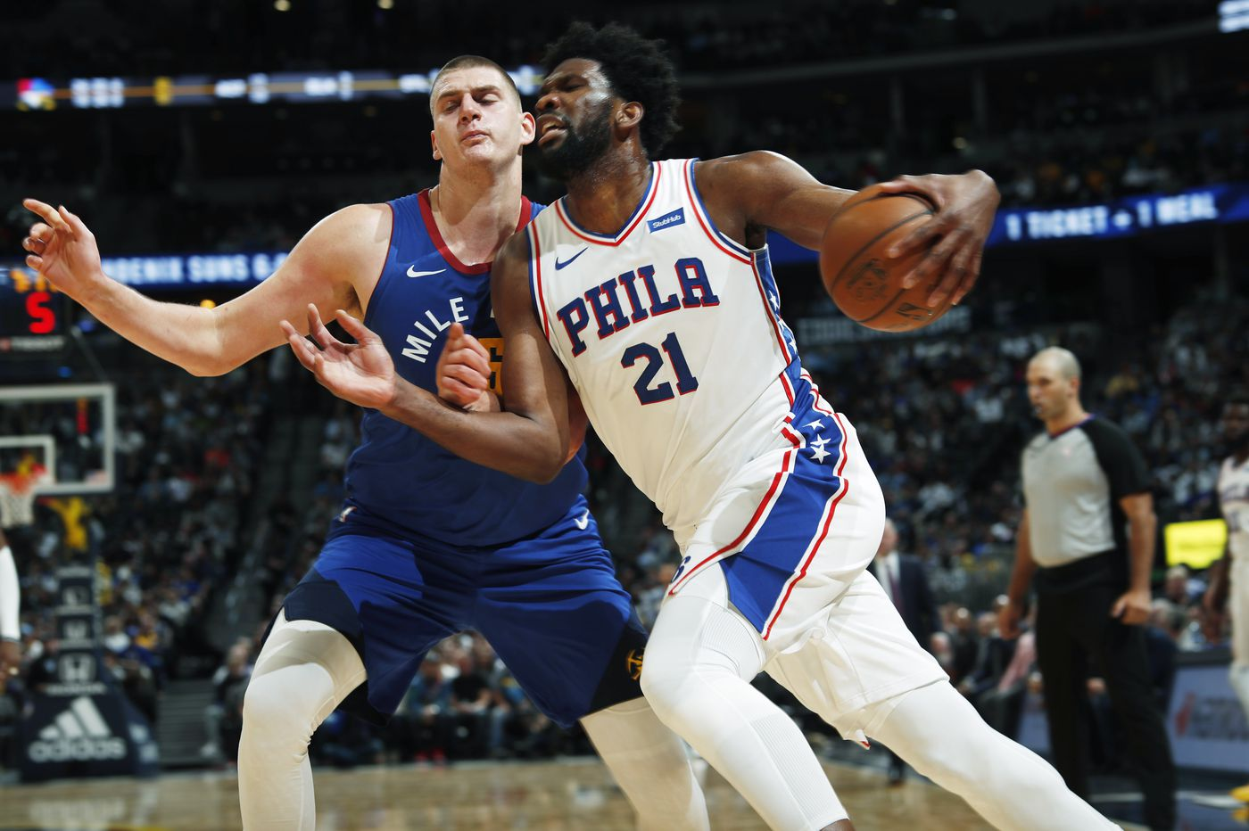 Sixers podcast: Dissecting Joel Embiid vs. Nikola Jokic, Denver Nuggets