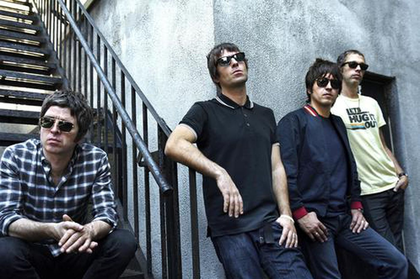 Oasis salutes its musical influences