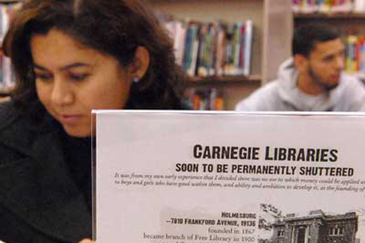Closing Phila. library has unexpected owners
