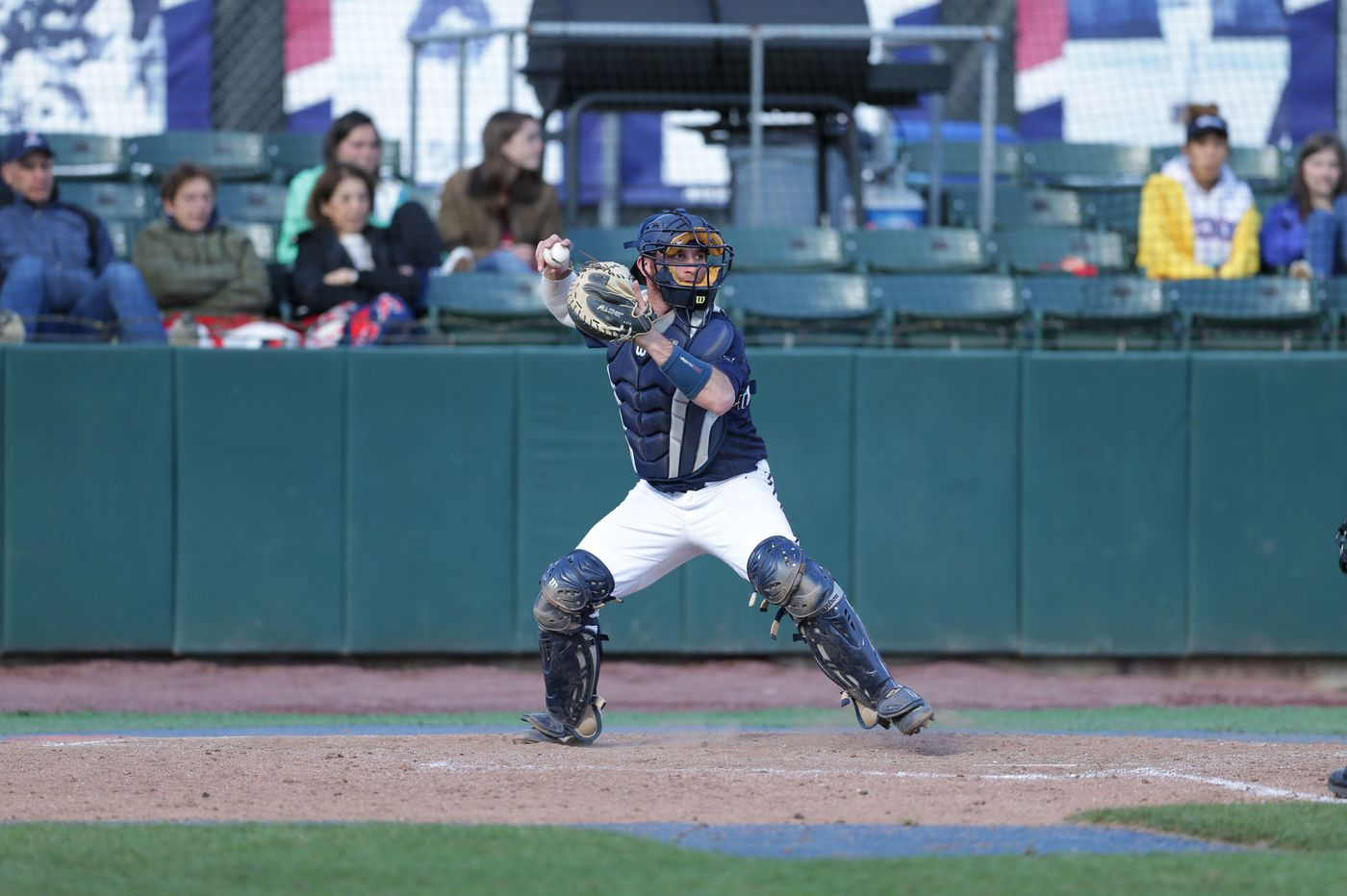 Penn catcher Matt O'Neill looking to put business world on hold after being drafted by Mets