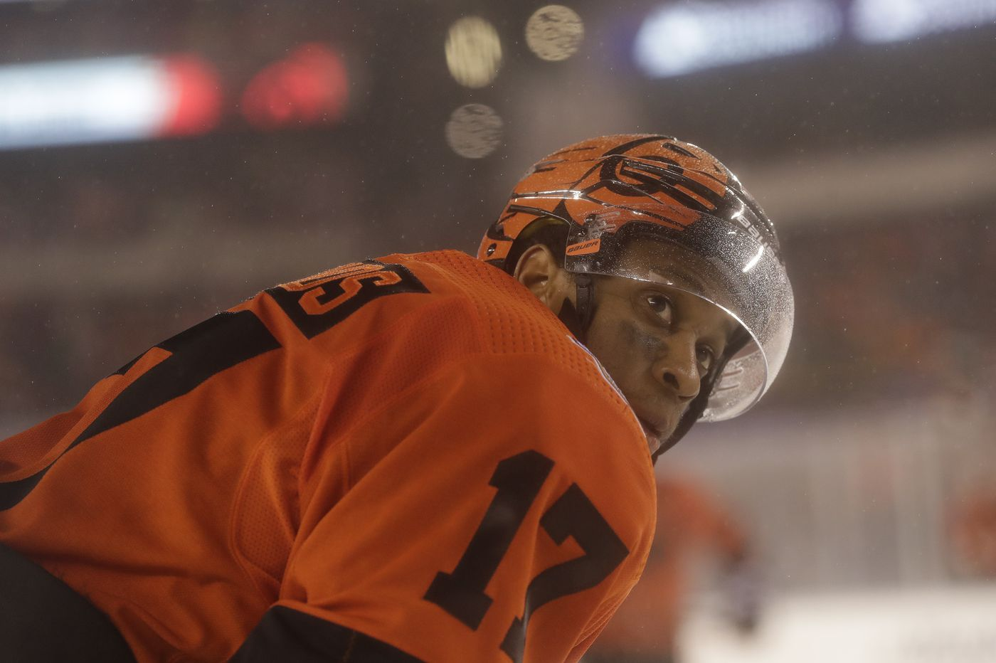 If Wayne Simmonds is traded, his last game with Flyers was a great example of his time here | Sam Donnellon