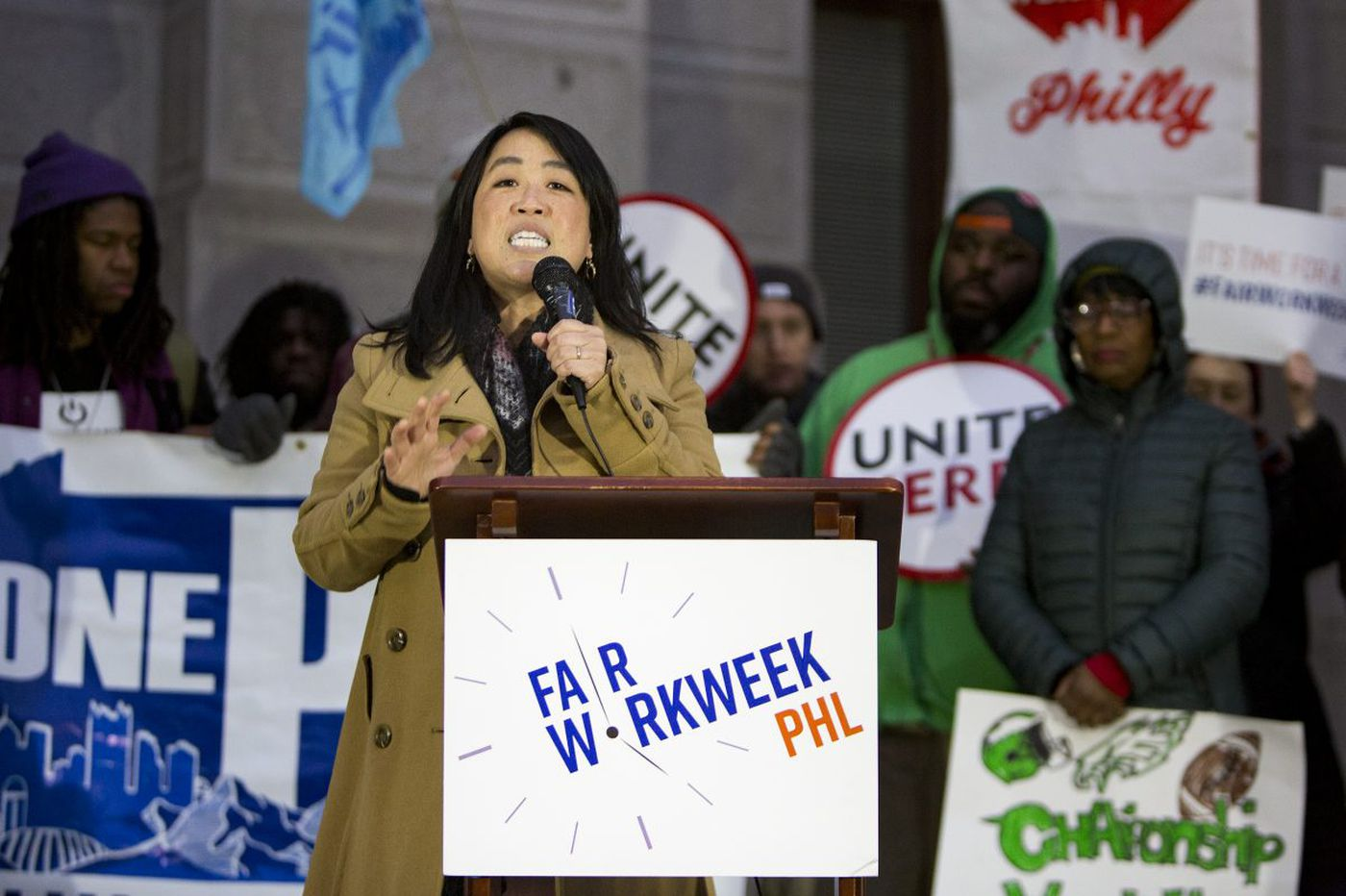 Phila  hourly workers in food and retail are stressed by