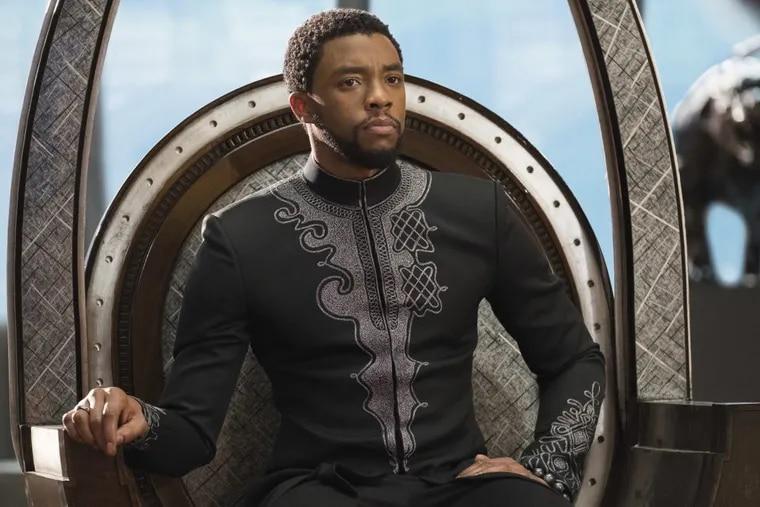 Chadwick Boseman in ' Black Panther.'