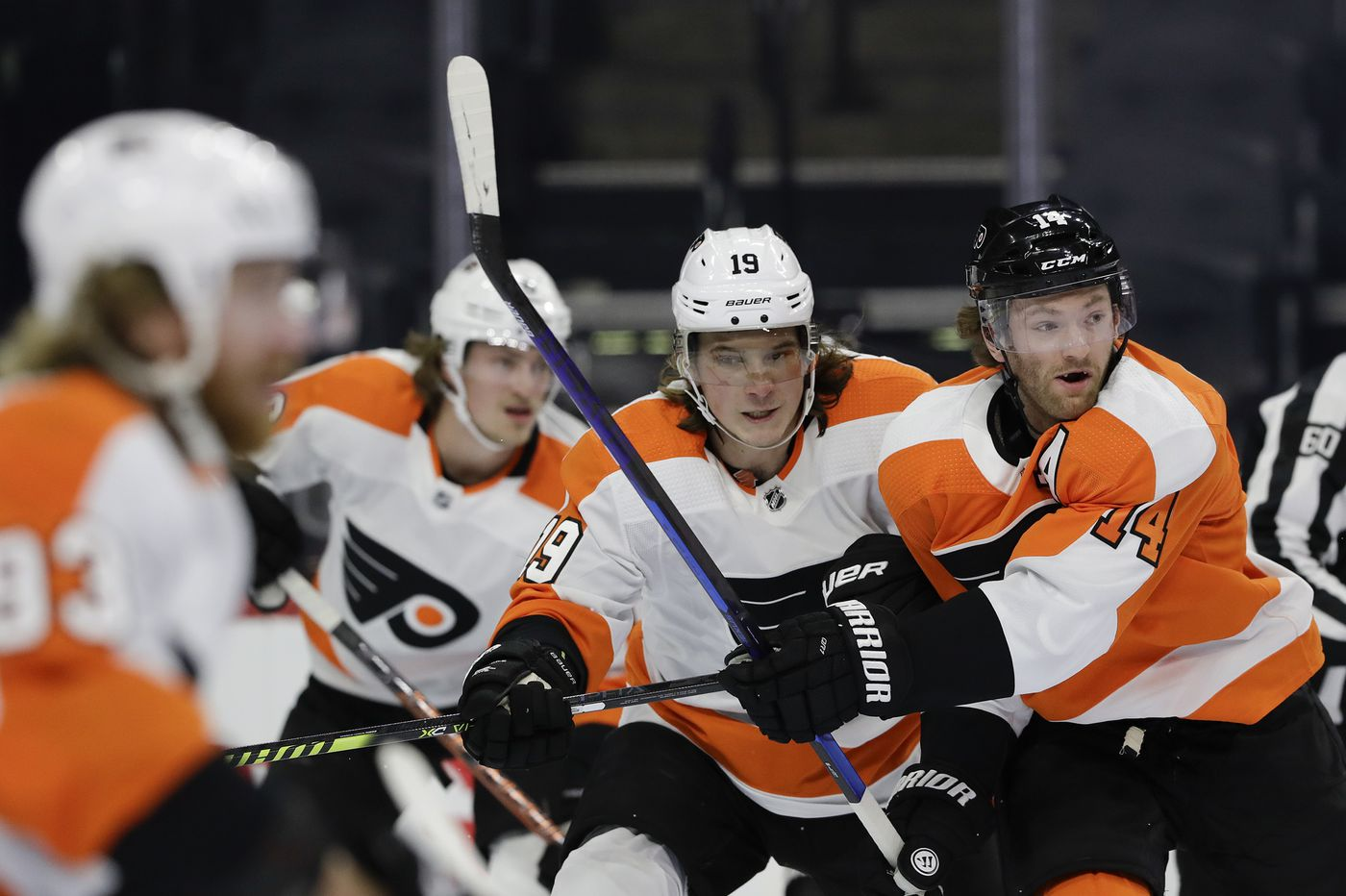 Nolan Patrick shines in scrimmage as Flyers play tune-up for Wednesday's opener