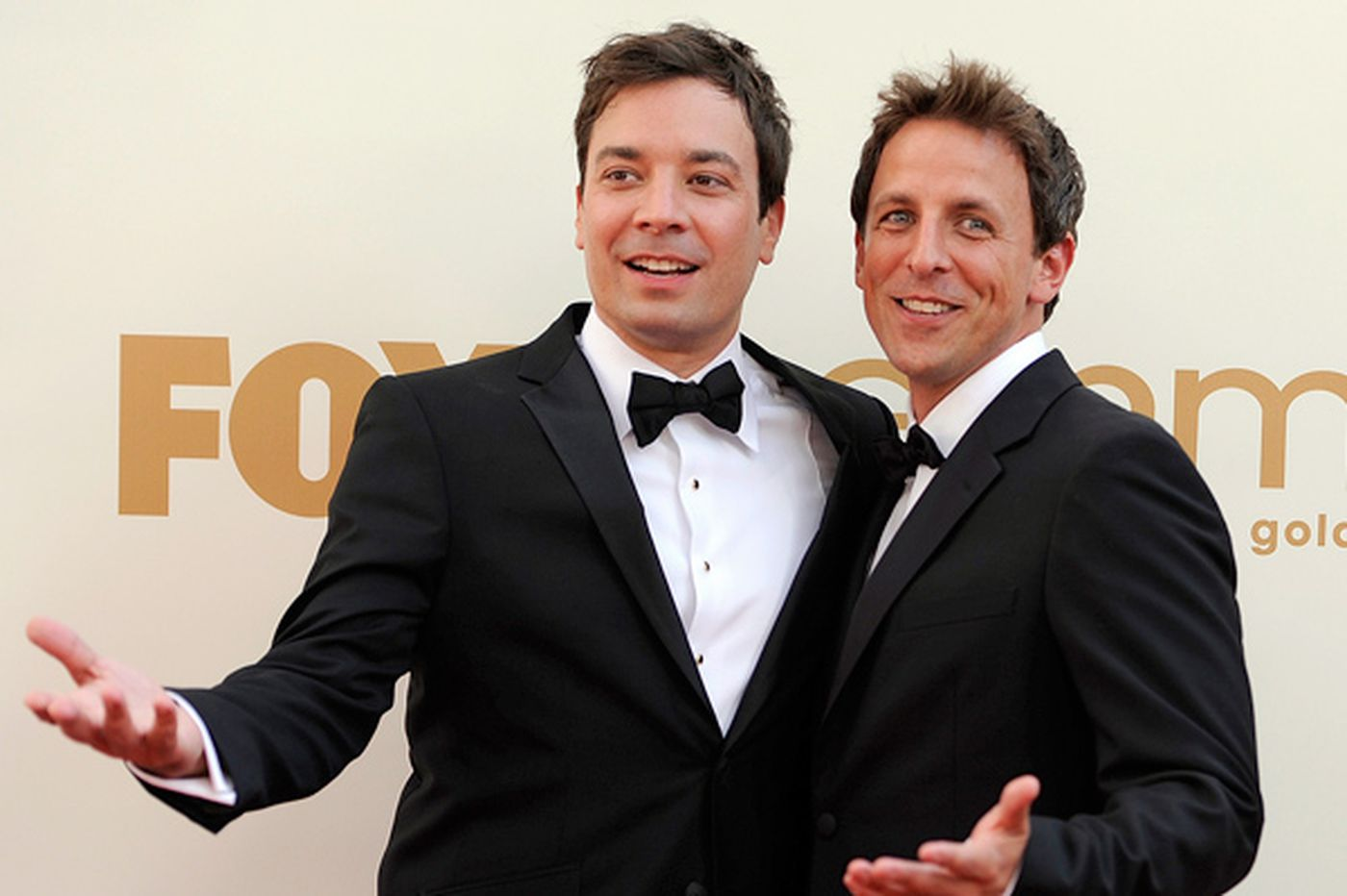 Seth Meyers named Jimmy Fallon's heir