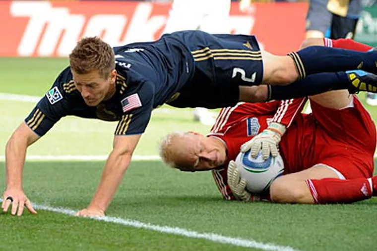 The Union and Wizards played to a 1-1 draw last Saturday. (AP Photo/Barbara Johnston)