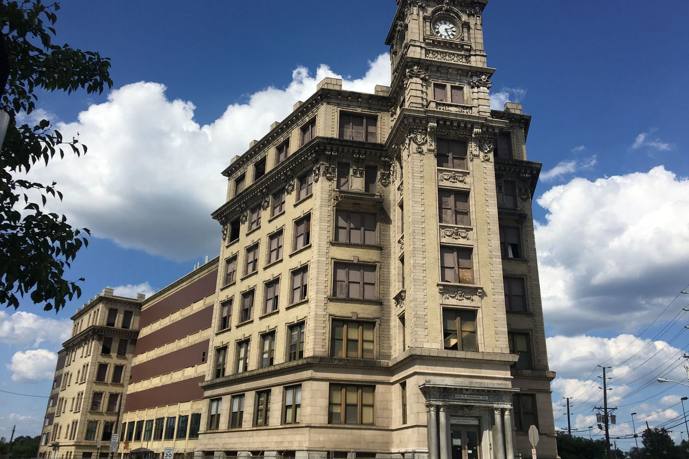 Work is underway at a historic South Jersey building. Are luxury apartments far behind?