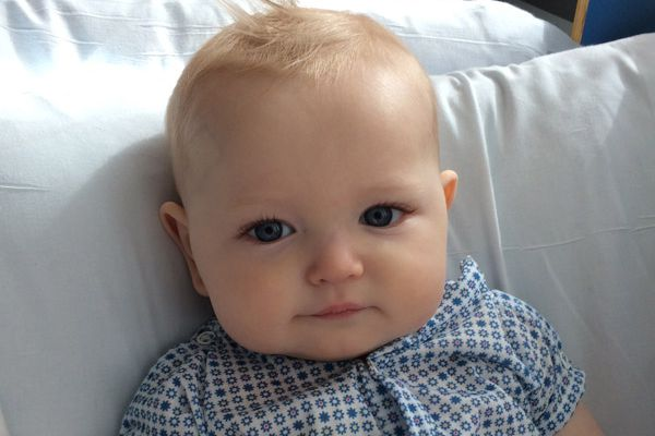 At 9 months, baby fights rare cancer in Philadelphia