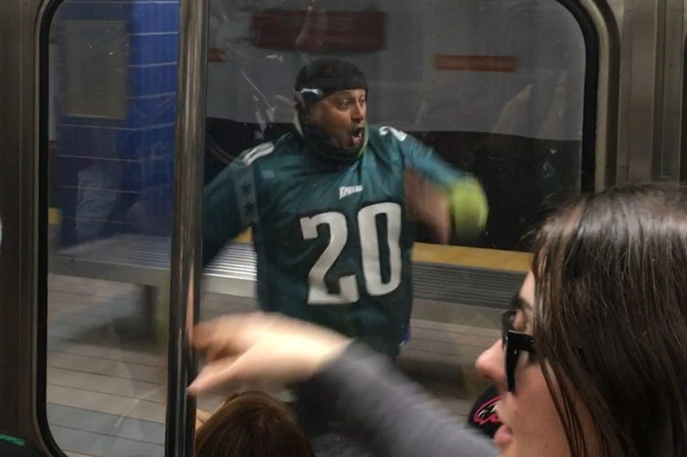 4f9a3deb66e Eagles fan OK after running into pole, 6 best jokes about Nick Foles' phone  call