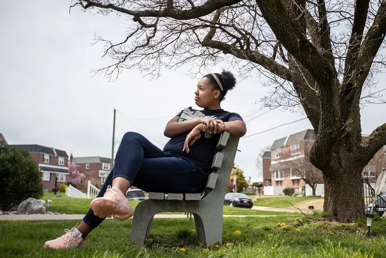 Maya Myers is a second-year student at Philadelphia Community College and was commuting to school from Northeast Philadelphia. Now she lives at home with her parents.