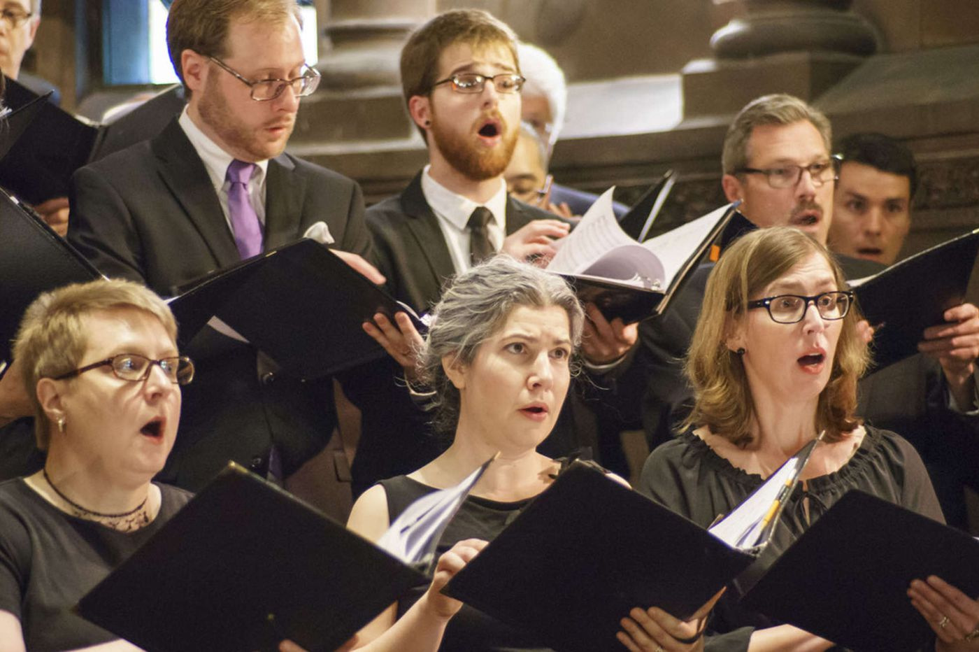 Bach - and seven brave new premieres - light up St. Clement's Church