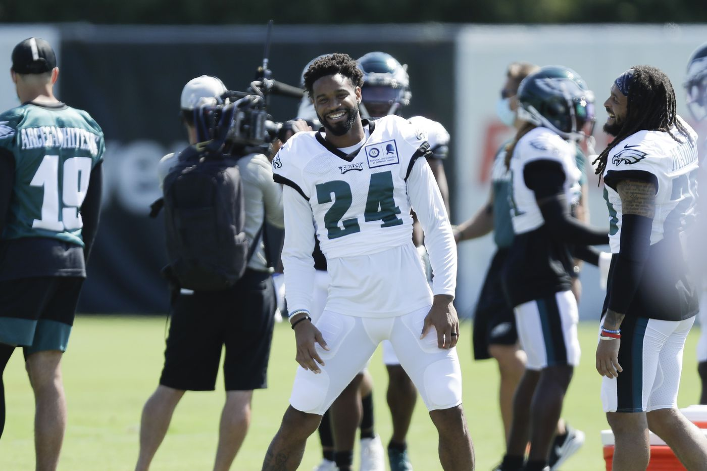 What Eagles training camp has revealed about the No. 2 cornerback competition   Early Birds