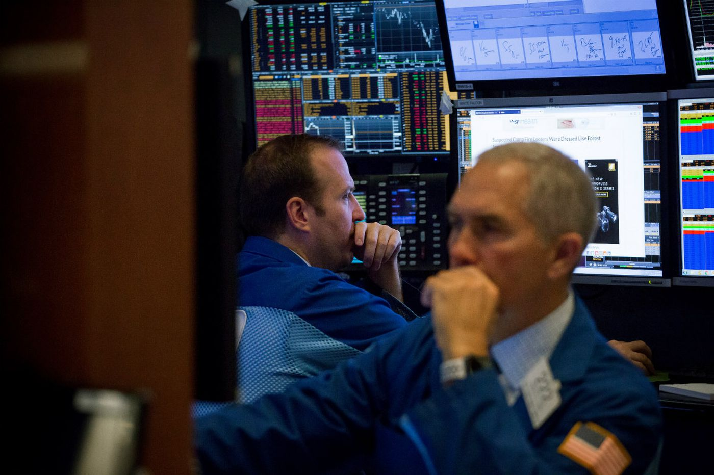 US stocks skid again on renewed fears that tech sector has run out of steam