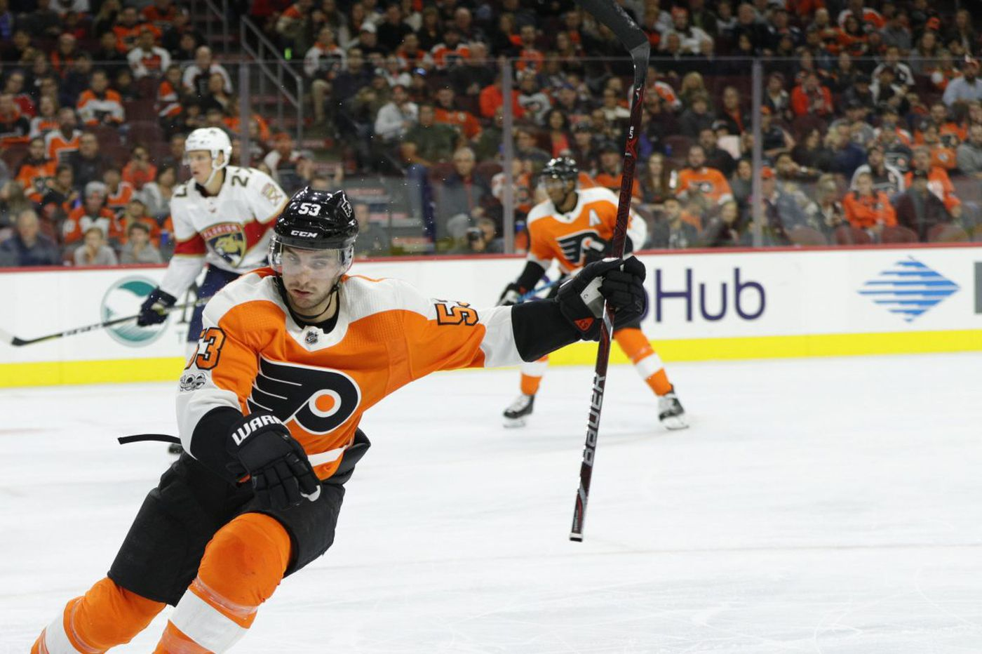 Mark Alt in Flyers' lineup; Gostisbehere injury not considered long-term