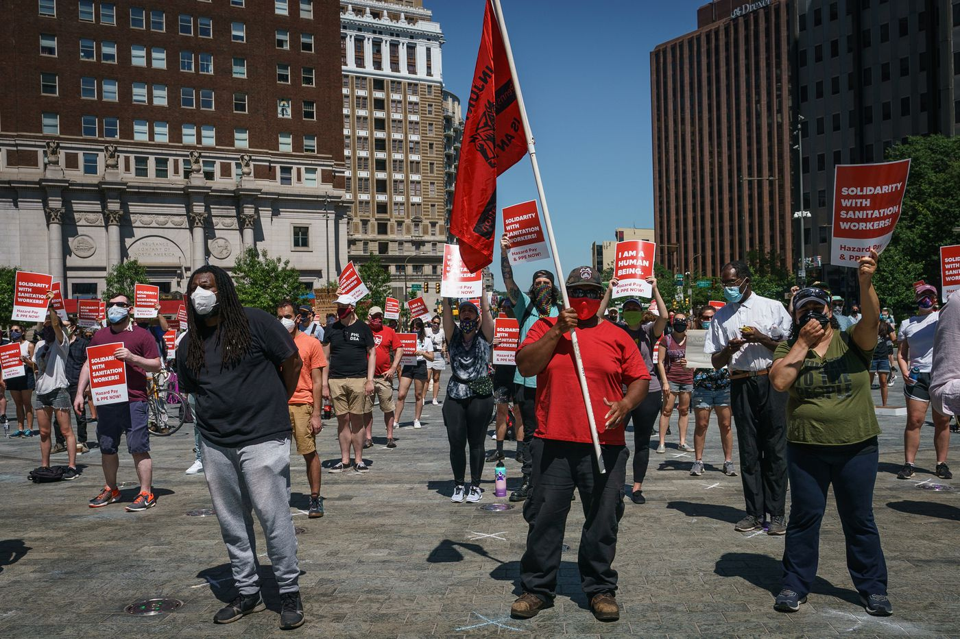 Workers aren't calling out unsafe coronavirus conditions for fear of losing their jobs. A Philly bill could help.