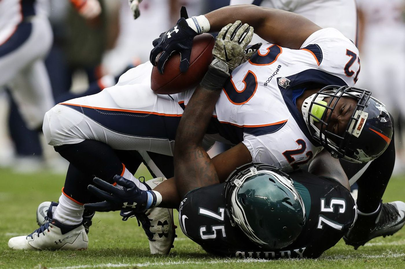Eagles' defense has become the No Run Zone | David Murphy