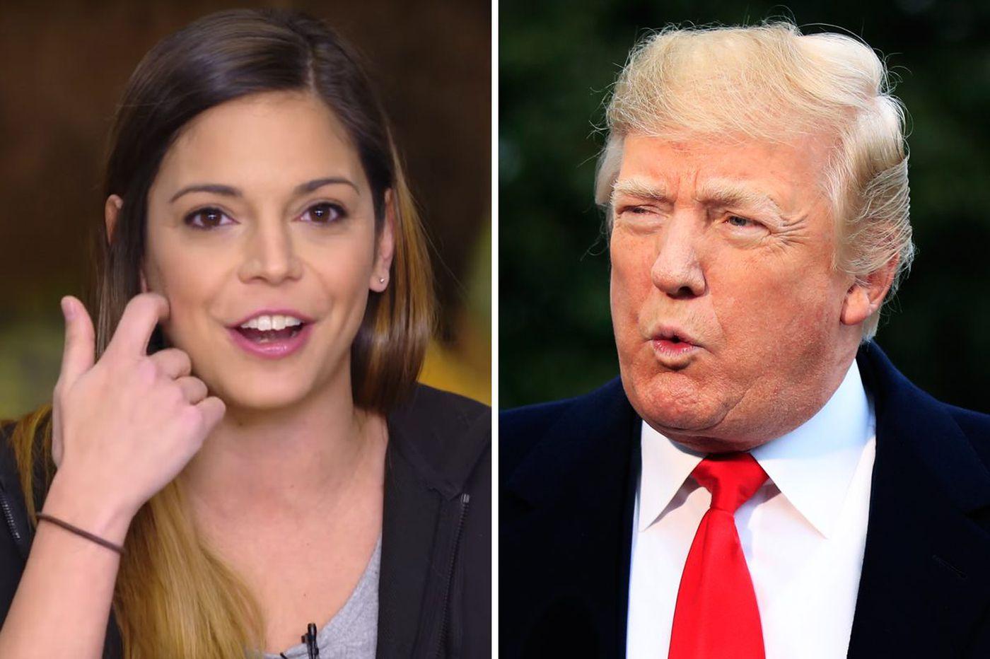 ESPN's Katie Nolan calls Trump a 'stupid person'
