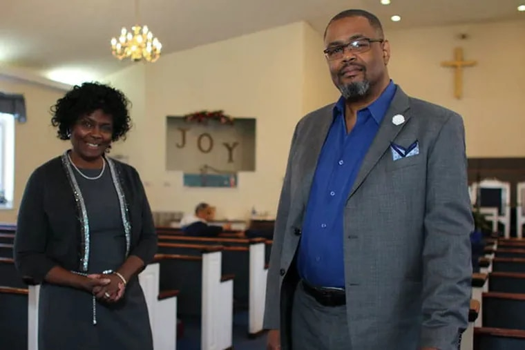 Rose Hollis and her brother Douglas Yancy , pastor of Mt. Moriah Baptist Church. After Yancy underwent bariatric surgery, he began to counsel his congregation and family on the procedure.