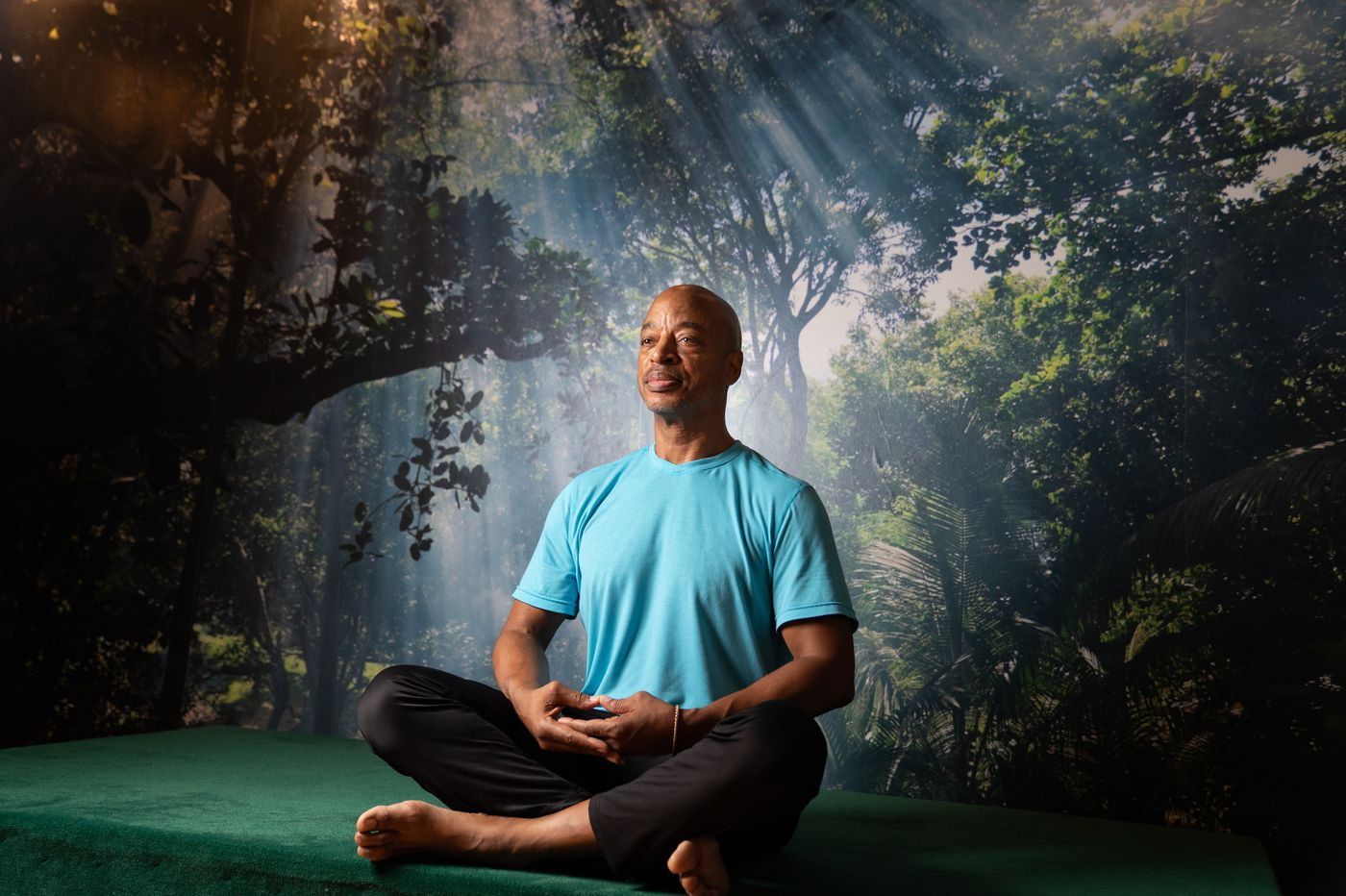 After decades as a cop, he became a yoga teacher   We the People