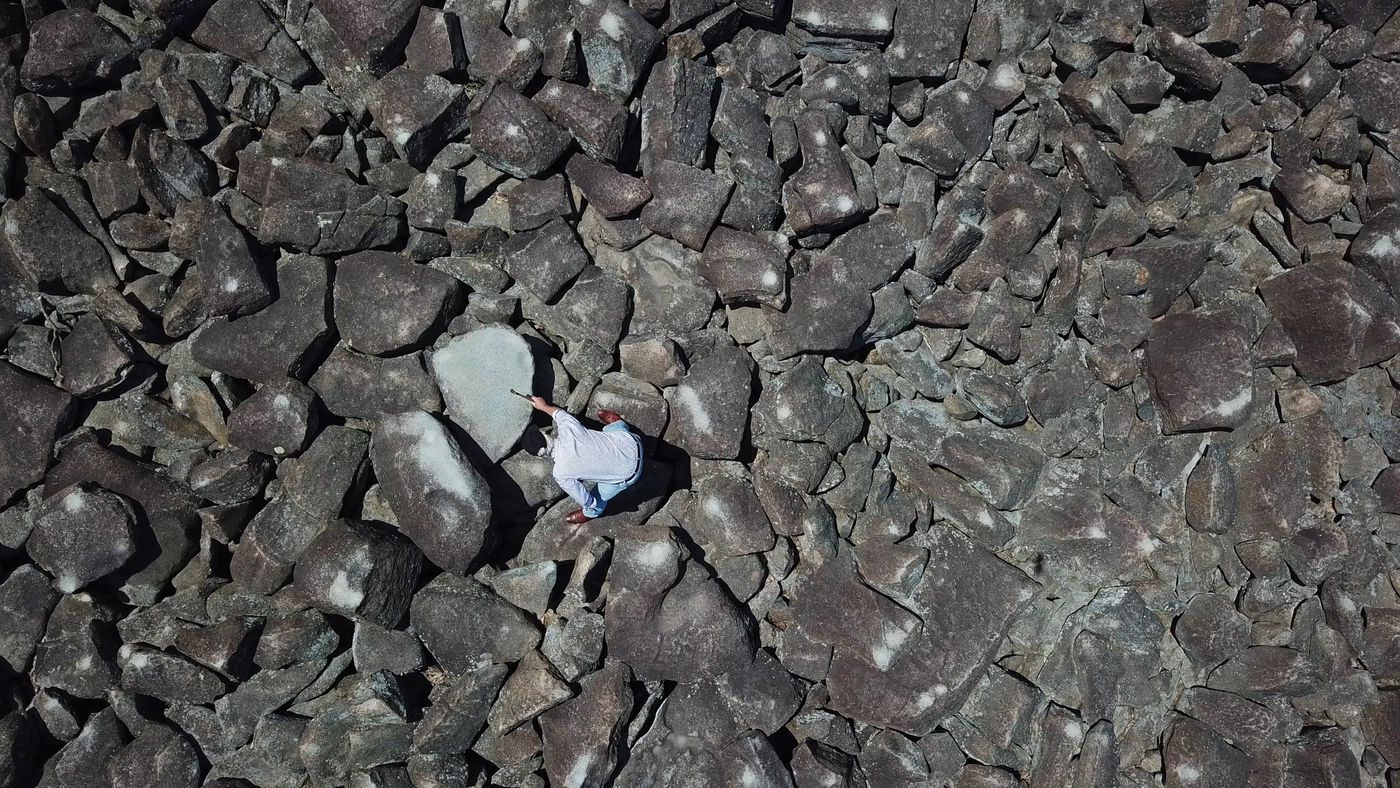 There's a bed of ringing rocks in Bucks County that make music with the help of a hammer