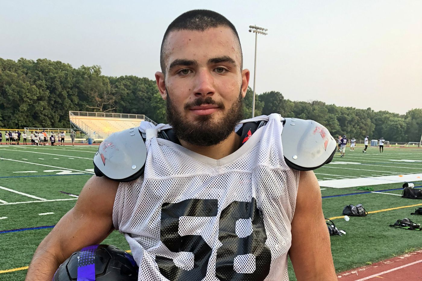 Cherry Hill West lineman Max Sullivan is a man on a mission