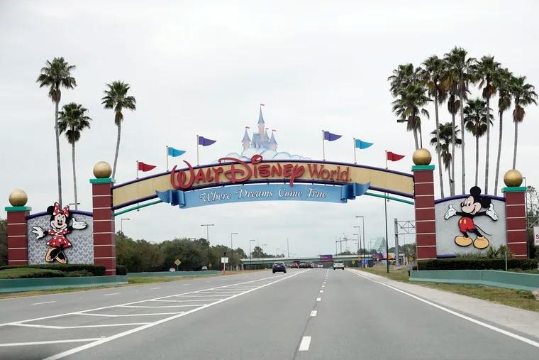 One the NBA's location options for resuming the season is Walt Disney World in Lake Buena Vista, Fla.