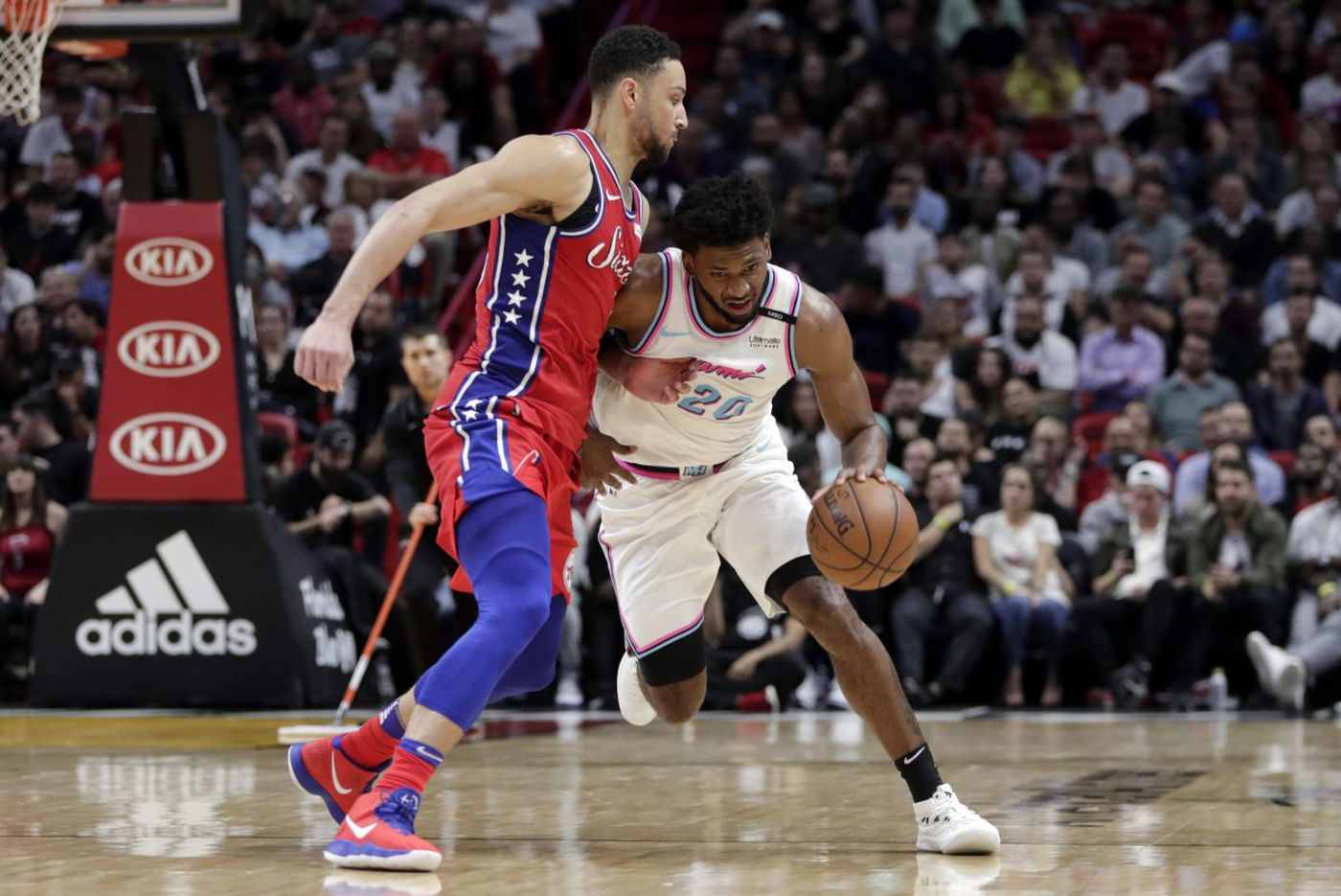 Ben Simmons says Sixers weren't ready to play Miami Heat