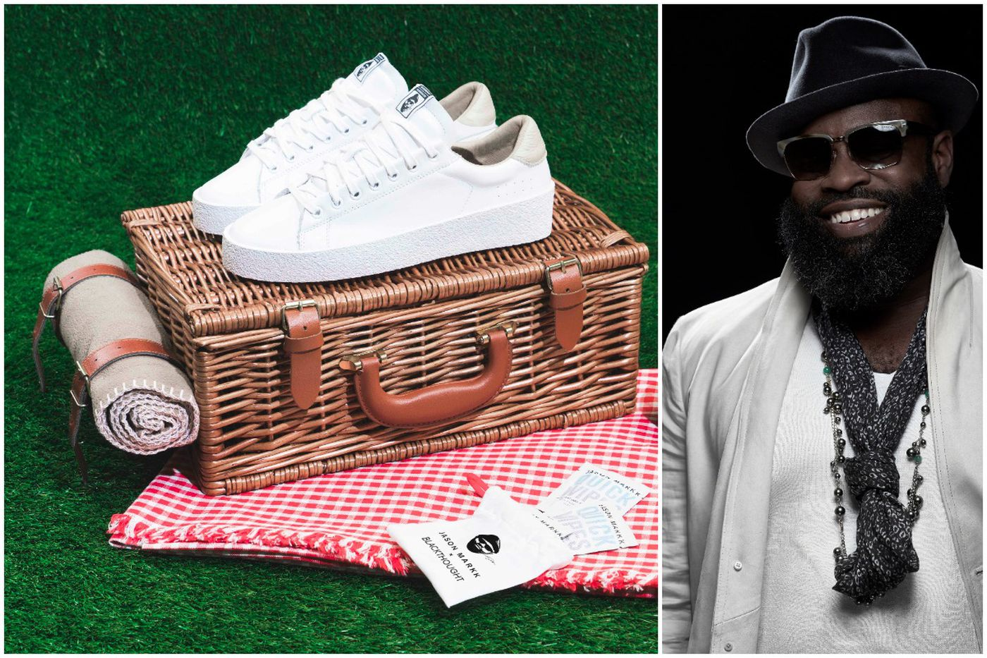 Black Thought launches sneaker collab, talks style