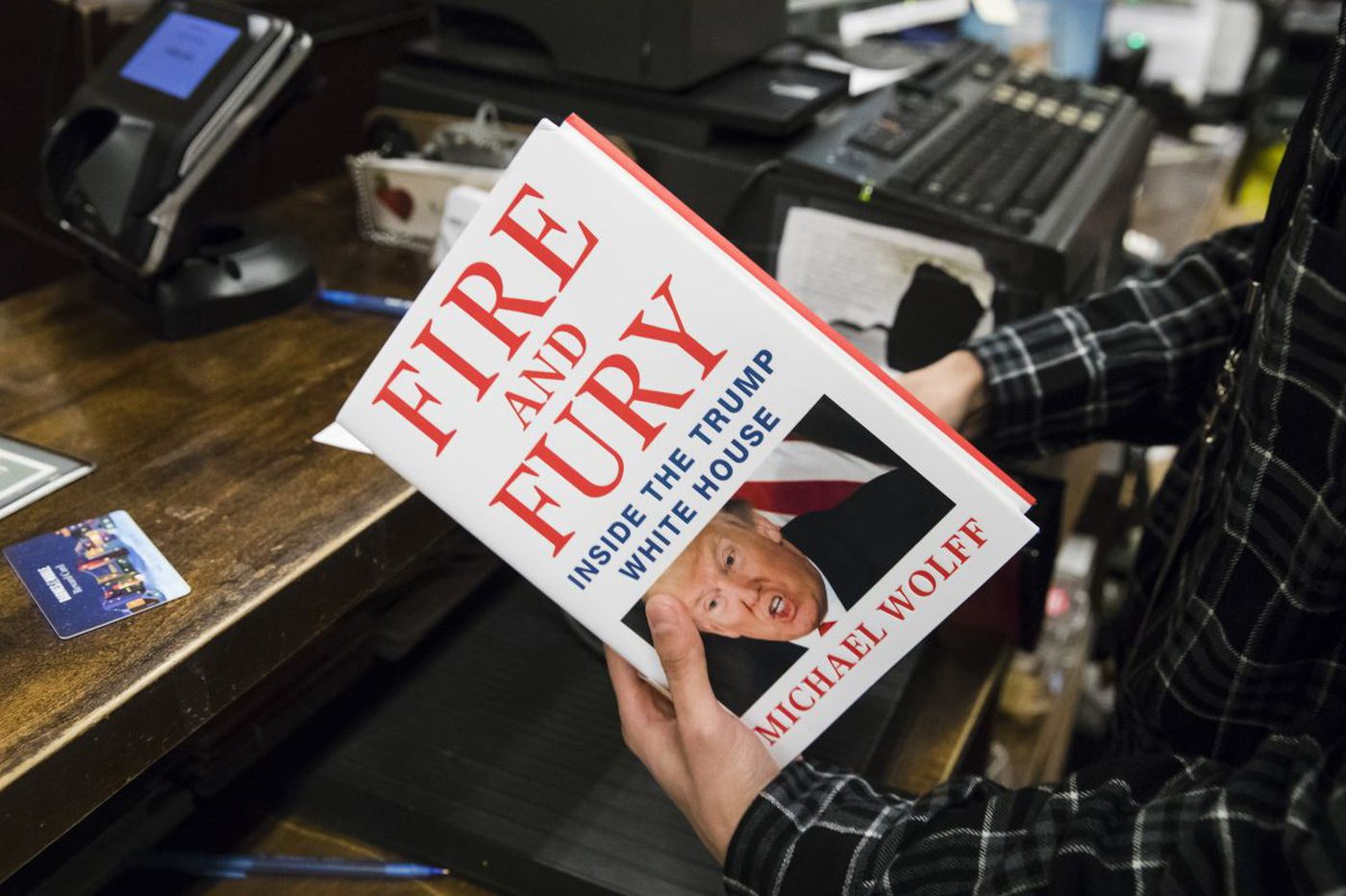 Philly-area bookstores sold out of 'Fire and Fury' Trump book within hours of opening Friday morning