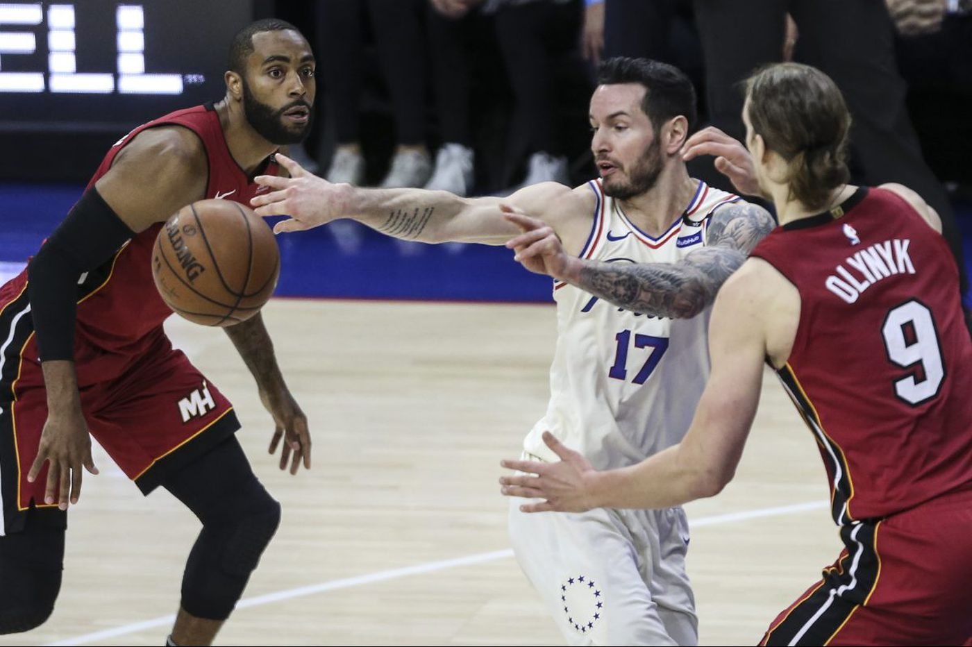Sixers struggled with Miami's physicality in Game 2 loss