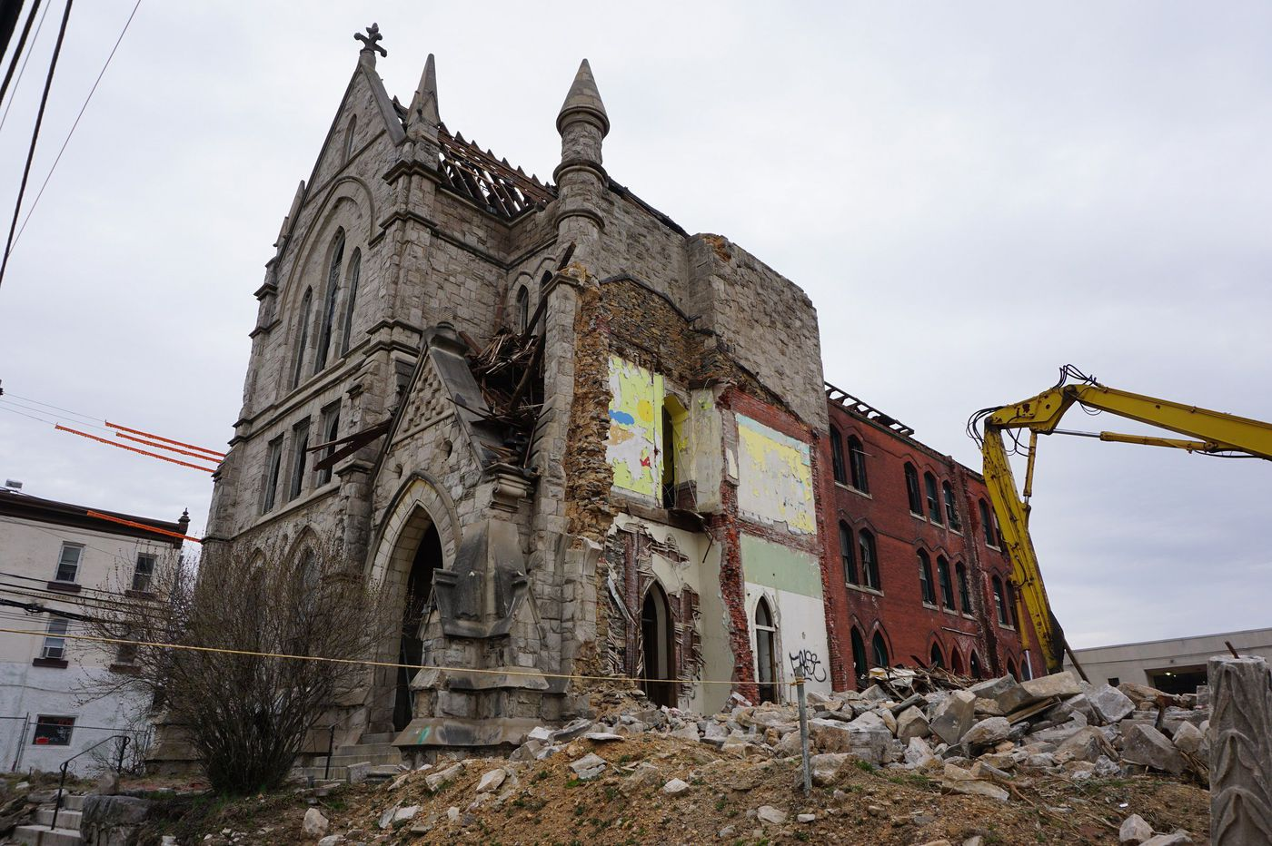 Developer Alterra pays $17M for semi-demolished church site in West Philly