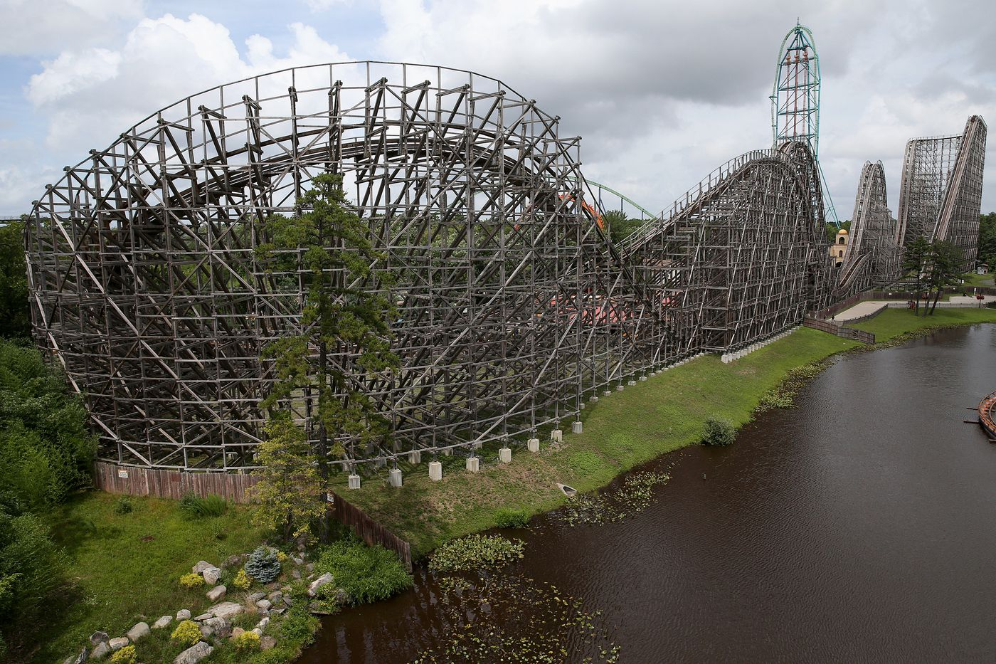 The El Toro roller-coaster at Great Adventure.