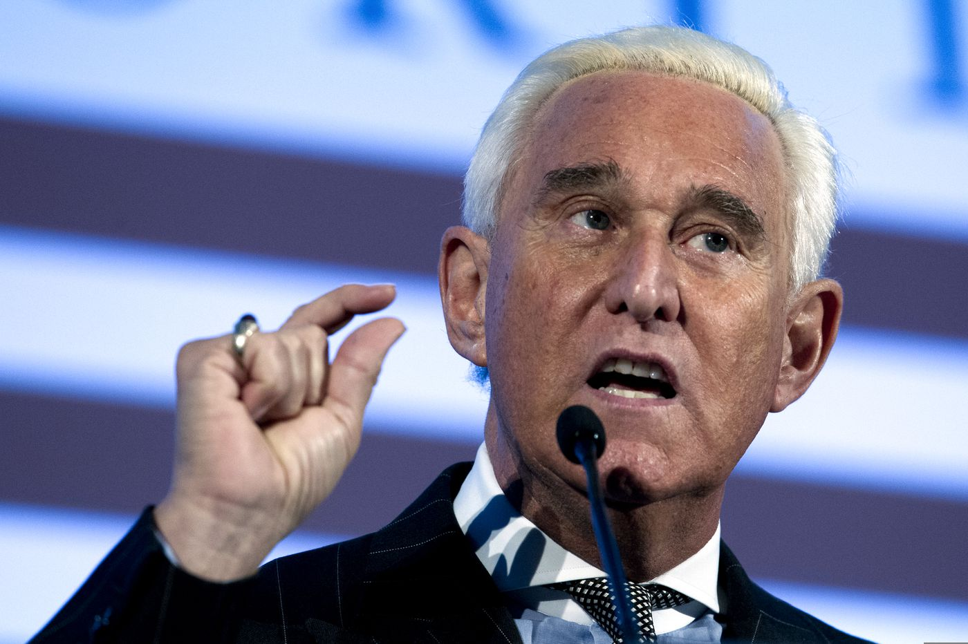 Trump confidant Roger Stone is arrested, says he's falsely accused