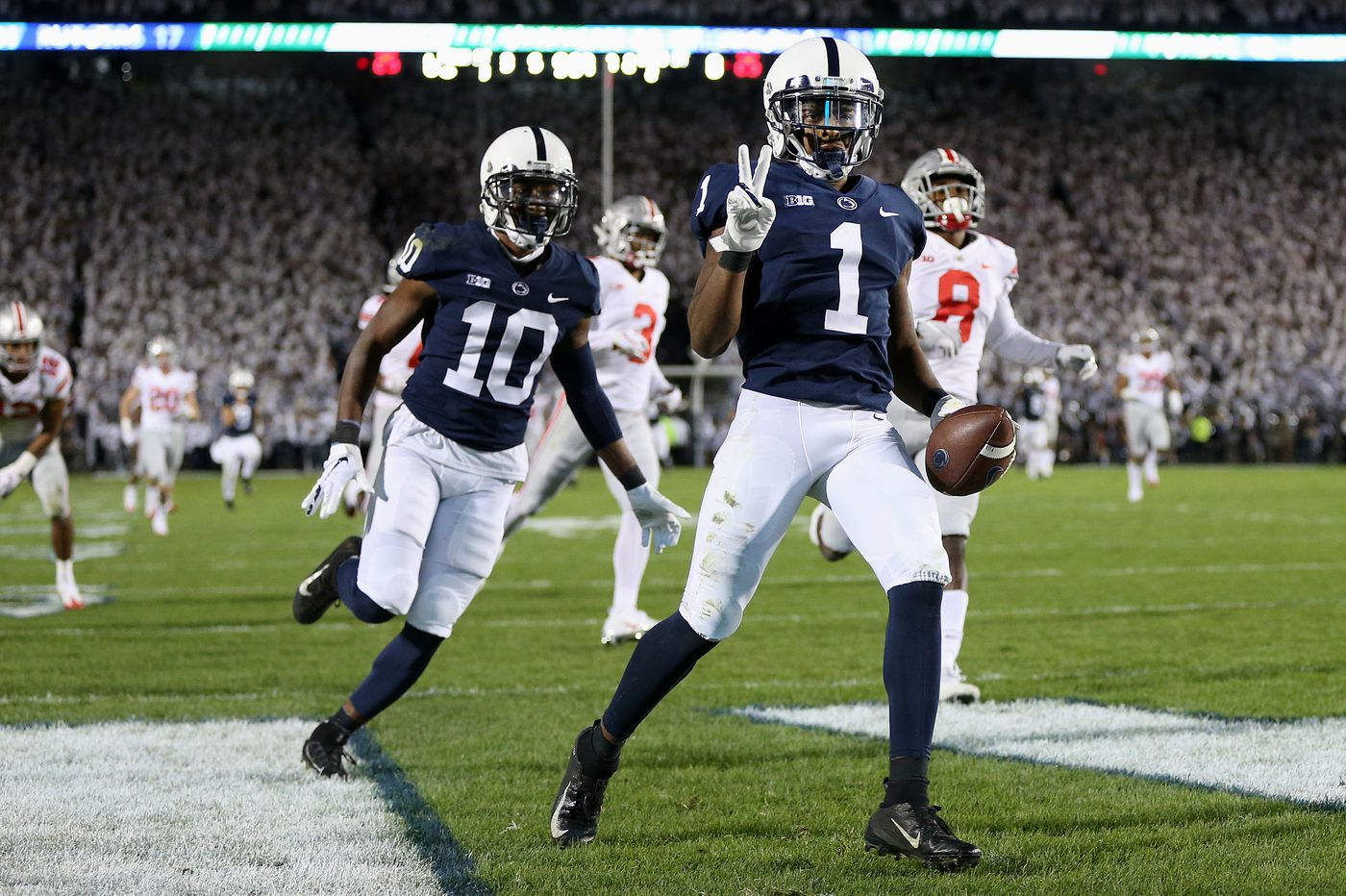 Penn State's K.J. Hamler hoping to spring more big plays vs. Kentucky in Citrus Bowl