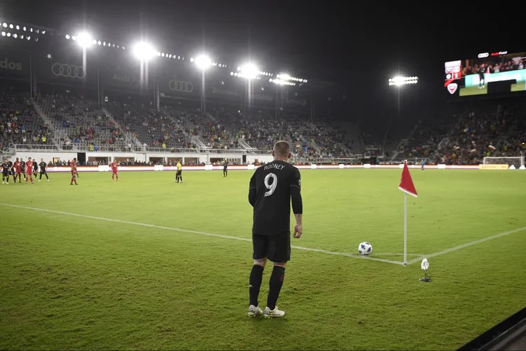 Wayne Rooney has 12 goals in 19 games since joining D.C. United in mid-July.