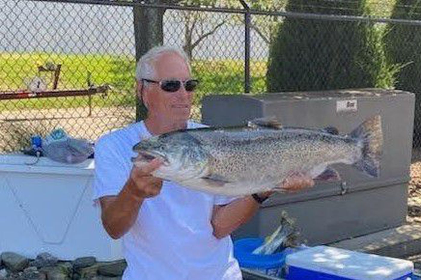 Angler catches 20-pound brown trout in Lake Erie, setting Pennsylvania record