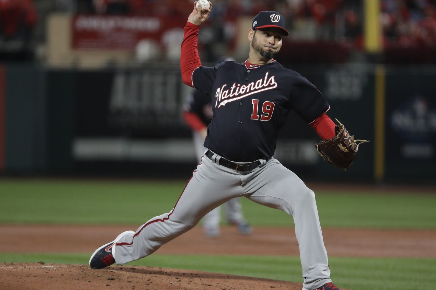 Sánchez shines as Nationals beat Cards, 2-0, in NLCS opener