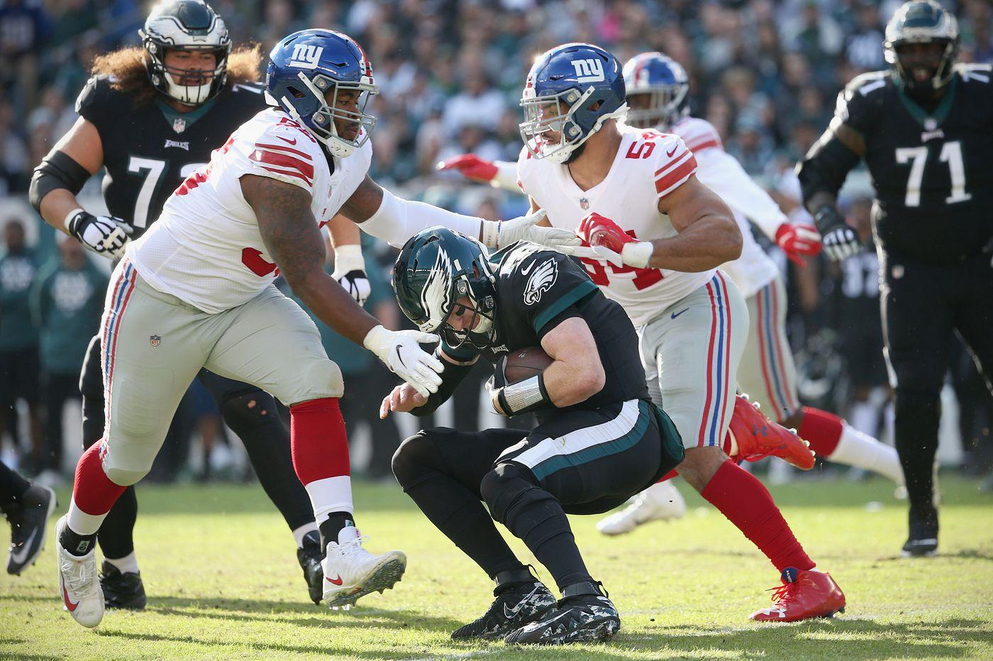 Eagles 25, Giants 22 – as it happened