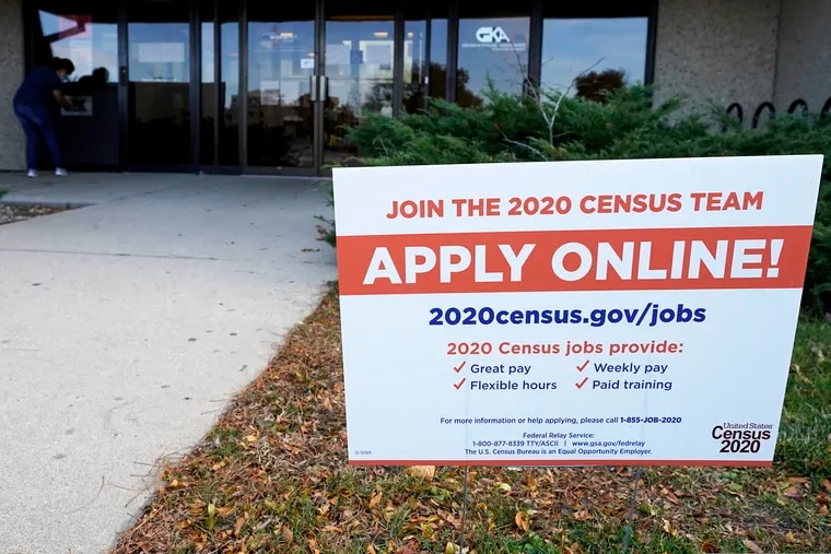 A sign is seen outside of IDES (Illinois Department of Employment Security) WorkNet center in Arlington Heights, Ill., on Nov. 5.