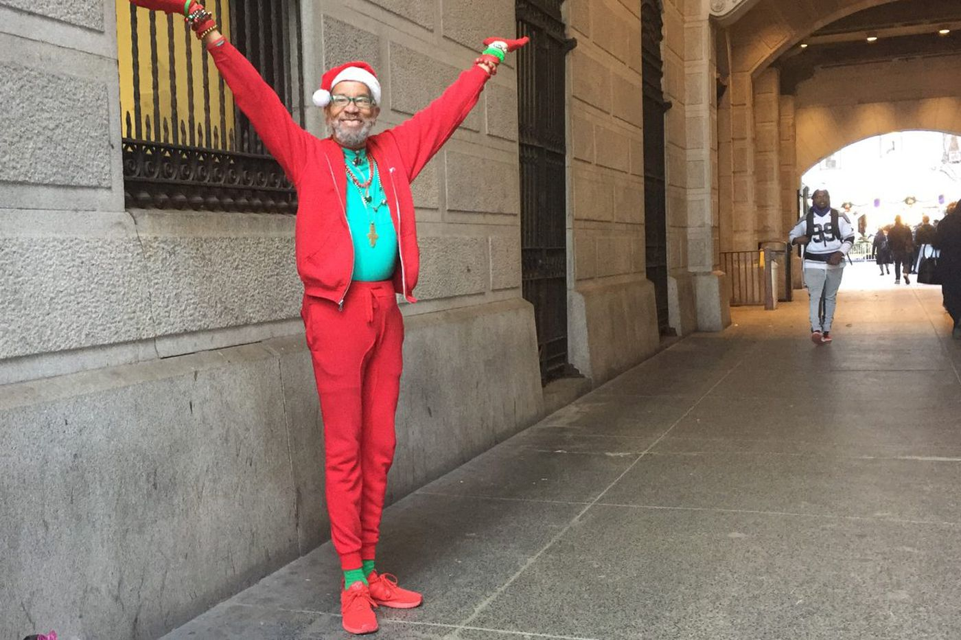 Hip-Hop Grandpop busts holiday dance moves | We the People