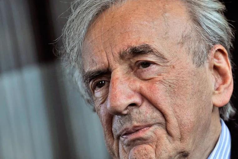 Elie Wiesel, the Nobel laureate who died July 2.