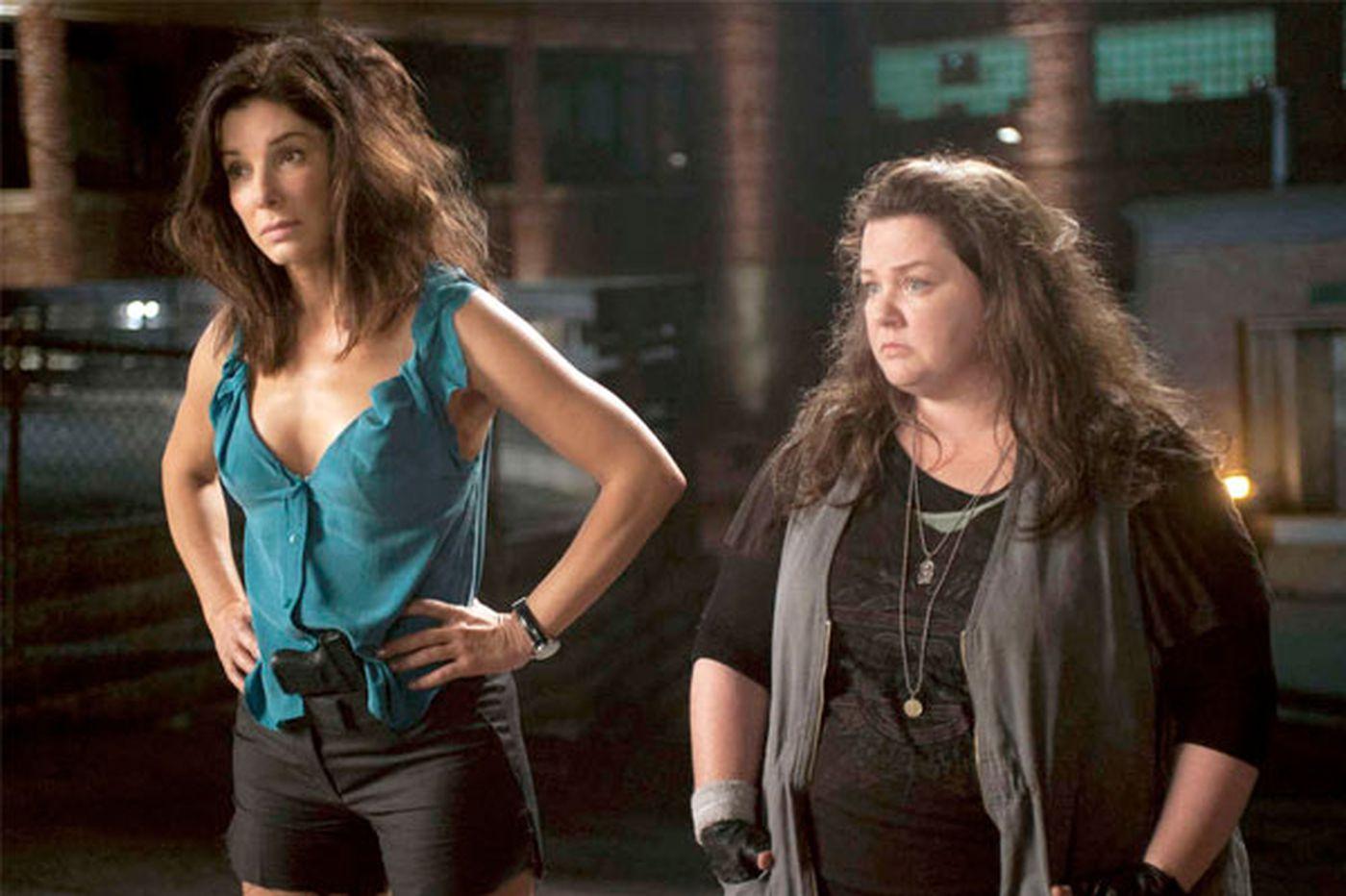 Buddy comedy raises the heat for Melissa McCarthy