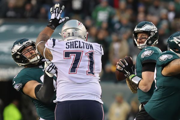 Eagles' Lane Johnson in concussion protocol after Patriots game; Andre Dillard to get reps at right tackle