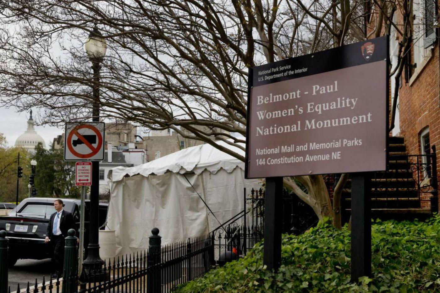 White House honors Alice Paul's Washington headquarters