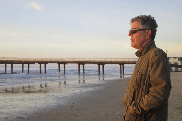 """Anthony Bourdain, in a Jersey Shore episode of CNN's """"Parts Unknown."""""""