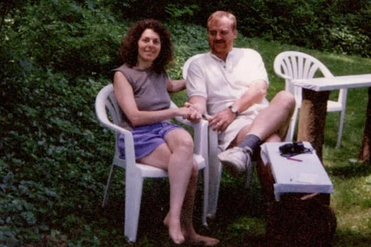 Ms. Weis and husband Gordon Whiting shared a love of art, nature, and family.