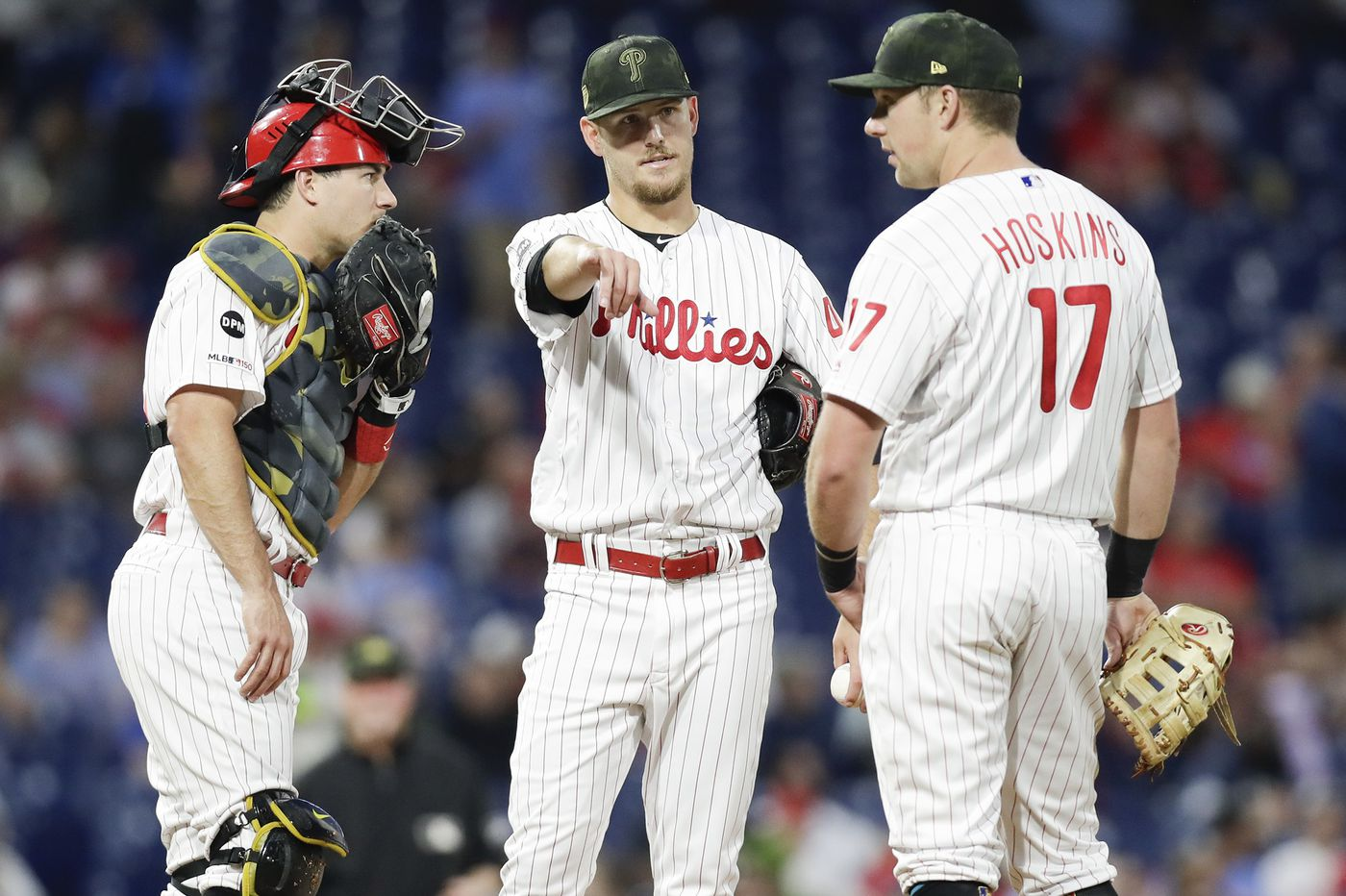 Phillies create rotation vacancy, send Cole Irvin to triple A
